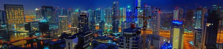 Каталог изображений для скинали город Дубай.