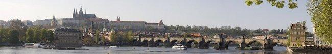 Фартук для кухни скинали Чехия карлов мост.