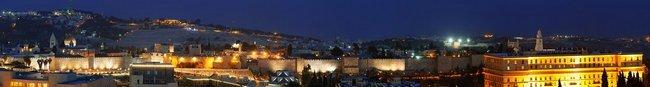 Фартук для кухни скинали Иерусалим.