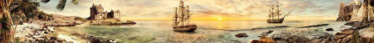 Скинали на кухню море корабли