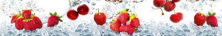 Кухонный фартук ягода клубника каталог изображений
