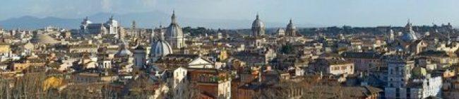 Фартук для кухни скинали панорама Рима.