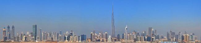 Фартук для кухни скинали город Дубай.