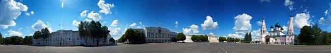 Фартук для кухни скинали город Ярославль.