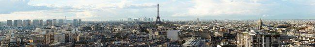 Фартук для кухни скинали Париж.
