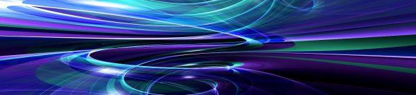 Каталог изображений для скинали волна фиолетовая.