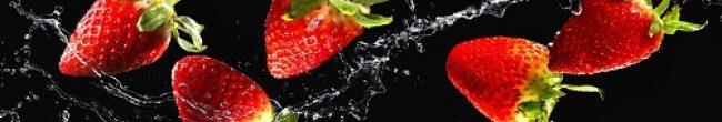 Кухонный фартук клубника в воде каталог изображений