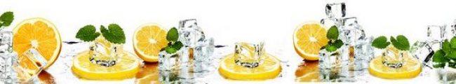 Кухонный фартук лёд с лимоном каталог изображений