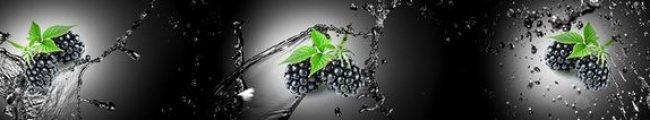 Кухонный фартук ягода ежевика каталог изображений