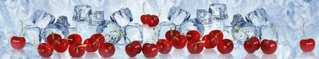 Кухонный фартук вишня во льду каталог изображений