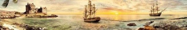 скинали картина, корабль, парусник